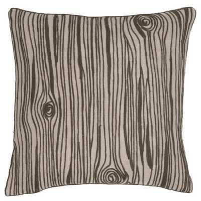 Wood Grain Indoor/Outdoor Pillow - Fresh American