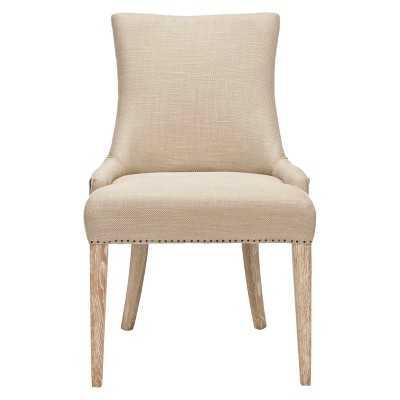 Safavieh Avalon Dining Chair - Beige/Brown - Target