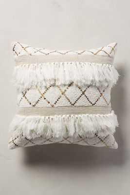 Moroccan Wedding Pillow - 18'sq. - Polyfill - Anthropologie