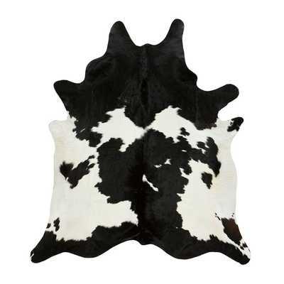 BLACK & WHITE COWHIDE - Dwell Studio