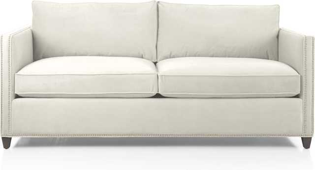 Dryden Apartment Sofa with Nailheads - Crate and Barrel
