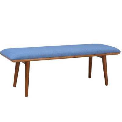 Matilda Upholstered Bench - Violet - Overstock