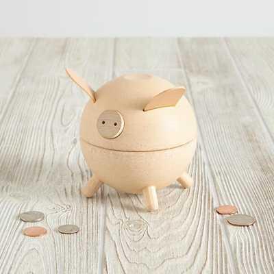 Natural Piggy Bank - Land of Nod