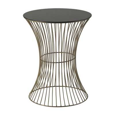 Thurcott Curved Drum Table - Overstock