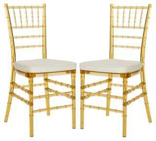 Byron Side Chairs, Pair - One Kings Lane