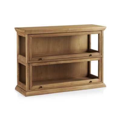 Atticus 2-Piece Barrister Bookcase - Crate and Barrel
