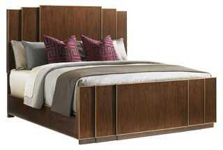 Fairmont Panel Bed, Walnut - One Kings Lane