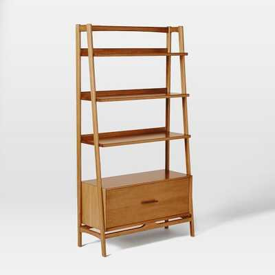 Mid-Century Bookshelf - Tall Wide - West Elm