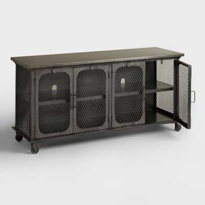 Metal Bexley Media Stand - World Market/Cost Plus