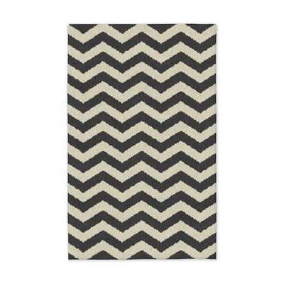Zigzag Wool Rug - Special Order (16-18 Week Delivery) - West Elm