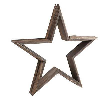 Milled Log Stars - Set of 2 - Pottery Barn