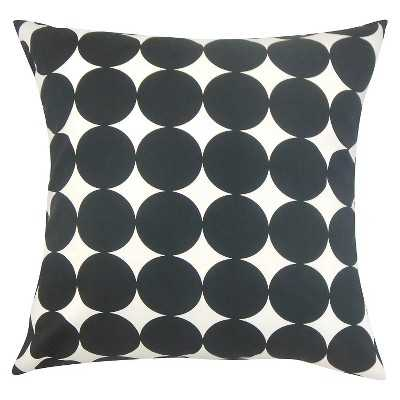 "The Pillow Collection Dots Decorative Pillow - 18"" x 18"" - Target"