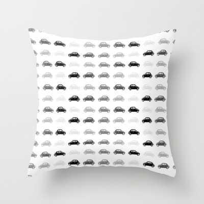 "Dreamy cars Pillow - 16"" x 16"" - Down Insert - Society6"