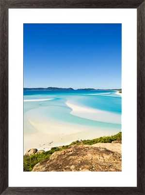 """Hill Inlet/22"""" x 28"""" Framed - Photos.com by Getty Images"""