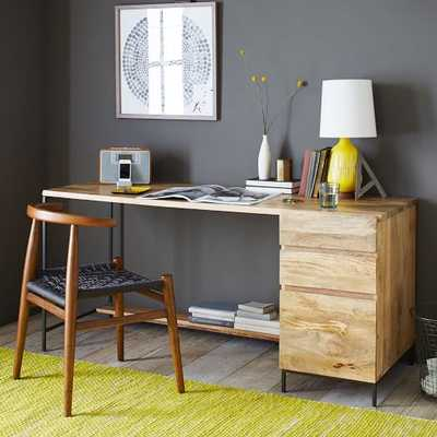 Industrial Modular Desk Set – Box File - West Elm