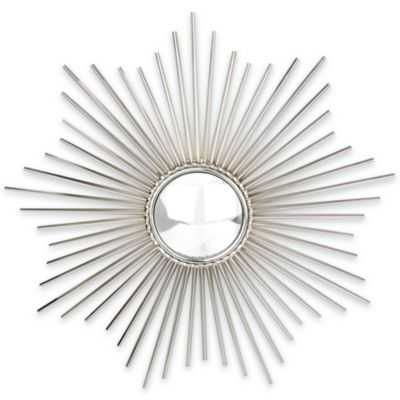 Glenna Jean Sunburst Nickel Mirror - Bed Bath & Beyond