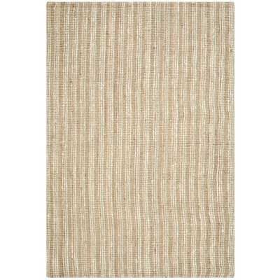 Safavieh Hand-Woven Natural Fiber Sage/ Natural Thick Jute Rug (9' x 12') - Overstock