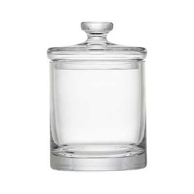 Small Glass Canister - Crate and Barrel