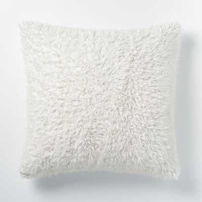 Faux Fur Sheepskin Pillow Cover - West Elm
