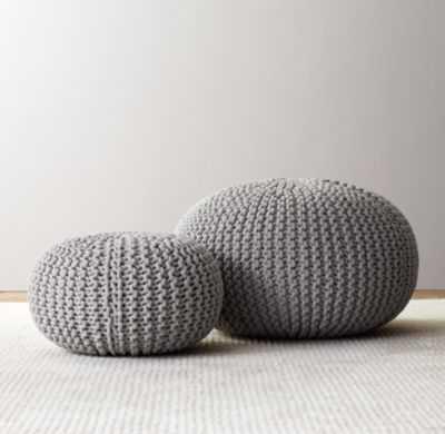 Knit cotton pouf - RH Baby & Child