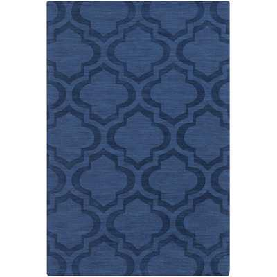 Central Park Navy Geometric Zara Area - 8' x 10' - Wayfair