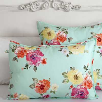 Junk Gypsy Country Blooms Sham - Pottery Barn Teen