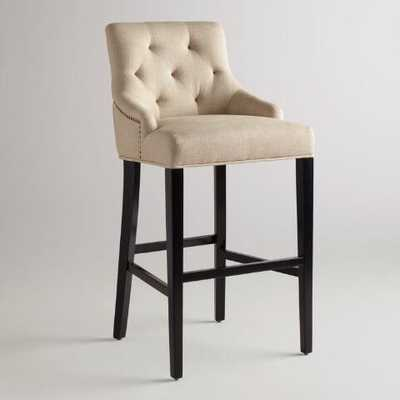 Linen Lydia Barstool - World Market/Cost Plus