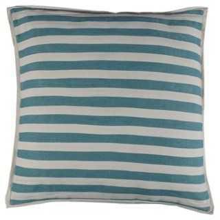 Saint-Brieuc Pillow, Blue - One Kings Lane