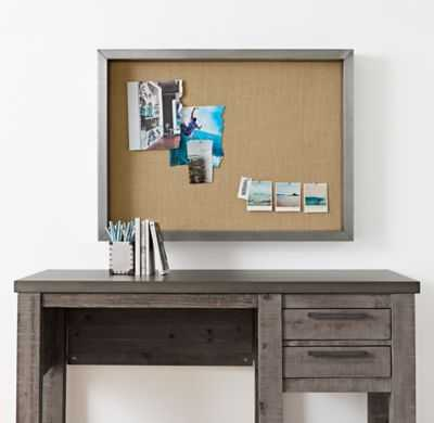 INDUSTRIAL SHADOW BOX MEMORY BOARD - RH Teen