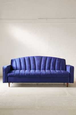 Julie Storage Sleeper Sofa - Blue - Urban Outfitters