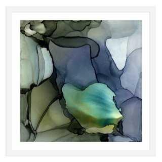 Andrea Pramuk, Frozen Deep - 24x24 - Framed - One Kings Lane