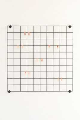 Wire Wall Grid - Black - Urban Outfitters