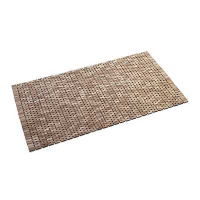 Lattice Wooden Mat - Crate and Barrel
