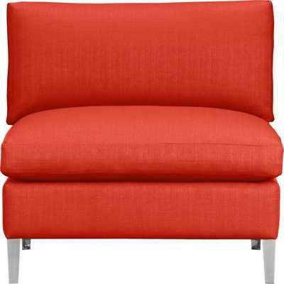 Cielo II armless chair - Buster flax - CB2