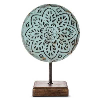 "Boho Boutiqueâ""¢ Round Medallion - Light Blue - Target"