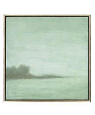 """Mist On The Horizon Painting - H:47"""" W:47"""" - framed - Bliss Home and Design"""
