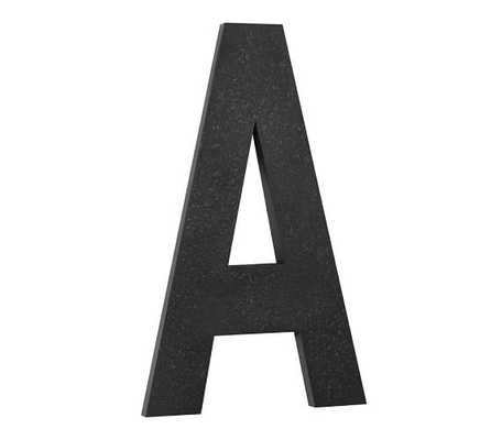 OVERSIZED HANGING LETTER - A - Pottery Barn
