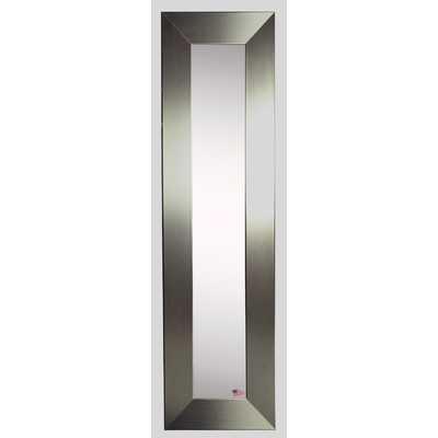 Molly Dawn Silver Wide Mirror Panel - Wayfair