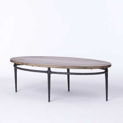 Cast Base Coffee Table - West Elm