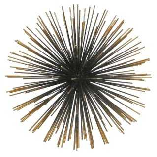 "11"" Starburst, Gold - One Kings Lane"
