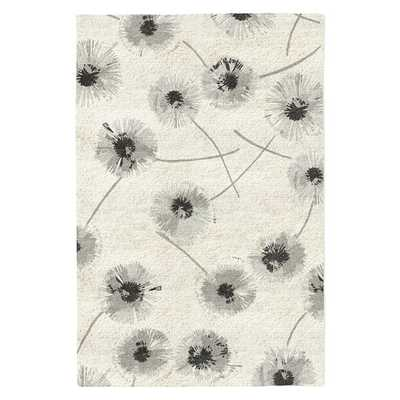 Dandelion Special Order Wool Rug - Ivory Background (4-Week Delivery) - West Elm
