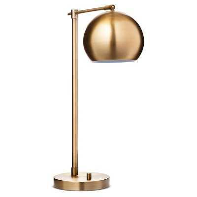 Threshold Brass Task Lamp - Brass - Target