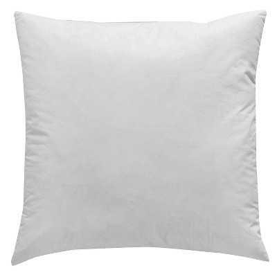 Surya Polyester Fiber Pillow Insert - 18x18 - Target