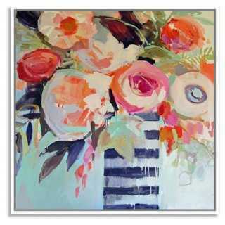 "Erin Gregory, Efflorescence 8 - 24""W x 24""H - White Frame - One Kings Lane"