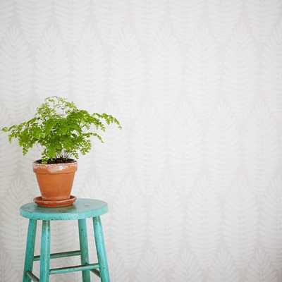 Chasing Paper Wall Panels – Fern (Stone) - West Elm