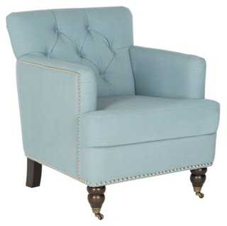 Chaucer Tufted Club Chair - One Kings Lane