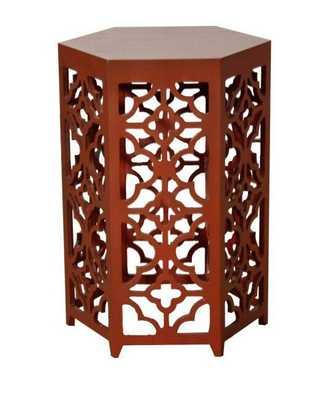 Walby Hexagon Side Table - Apt2B