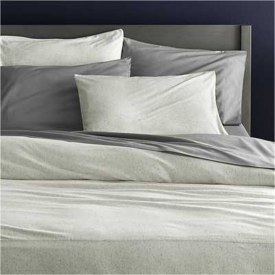 Recycled jersey full/queen duvet - CB2