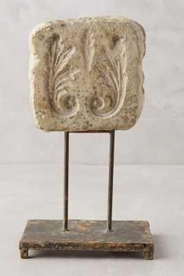 Inscribed Stone Objet - Square - Anthropologie