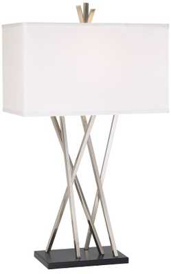 Possini Euro Design Asymmetry Table Lamp - Lamps Plus